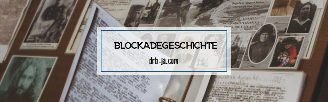 Porträts von Blockadeüberlebenden. Teil 1.