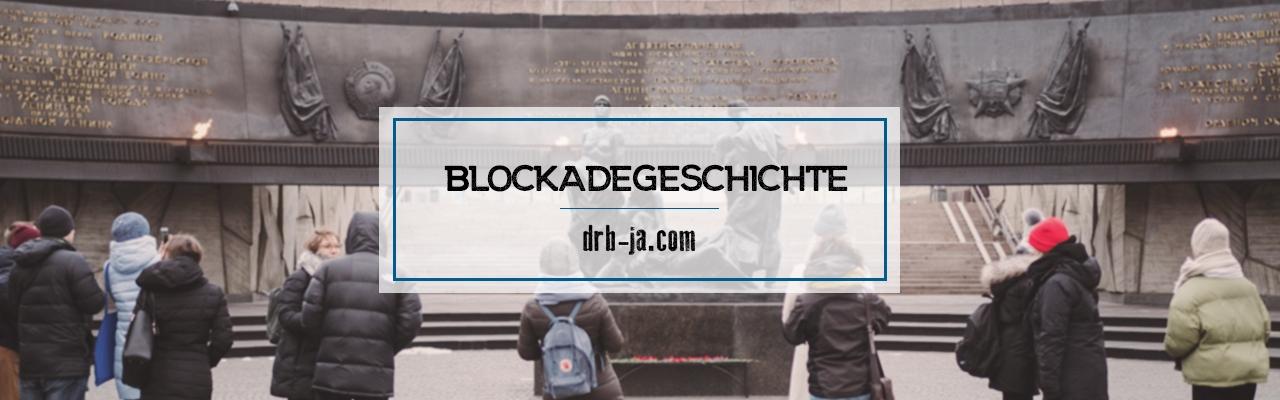 Blockademuseen, -ausstellungen und -gedenkstätten. Teil 1
